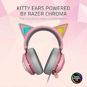 Razer北海巨妖猫耳耳机