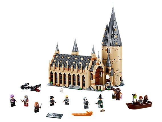哈利波特之 Hogwarts™ 礼堂 - 75954 | Harry Potter™ | LEGO Shop