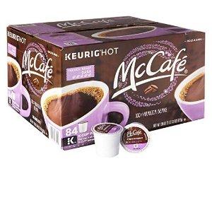 $26.60 (原价$35.99)美亚精选闪购:MCCAFE 法式烘焙胶囊咖啡 84个装