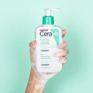 6.7折 仅€18.99  全网最低白菜价:CeraVe 泡沫洁面1L超大家庭装 洗手洗脸洗浴3合1