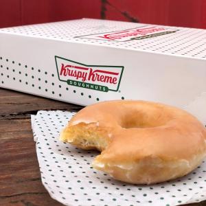 一打仅$5.99Krispy Kreme 经典糖浆甜甜圈 限时优惠热卖