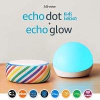 Amazon Echo Dot 儿童炫彩定制版 智能音箱套装