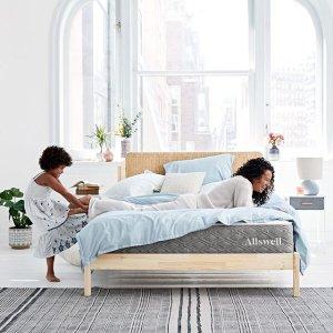 额外8折 $837收Queen至奢系列床垫Allswell 全场高端奢华床垫感恩特卖 $196起