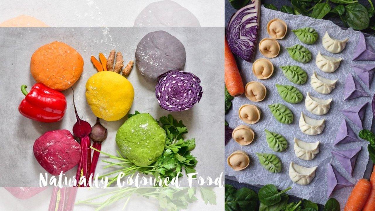 健康又好看的天然食材色素!中式、西式、面食、甜点通通都能做彩色的!宅家期间试一下!
