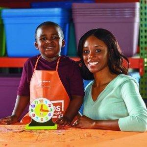 制作玩具时钟预告:Home Depot 3月份免费儿童手工活动