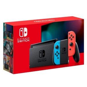 史低$348Prime day:Nintendo Switch 红蓝主机、限定主机