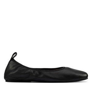 Clarks芭蕾鞋 黑色