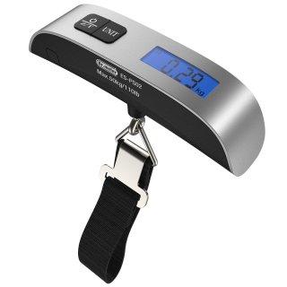 $6Dr.meter 110lb/50kg Electronic Balance Digital Postal Luggage Hanging Scale