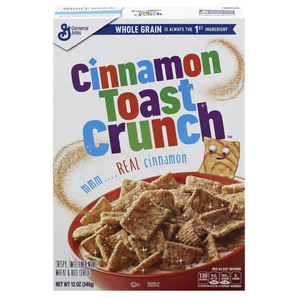 Cinnamon Toast Crunch 早餐即食麦片 12oz 2盒