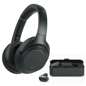 Dealmoon Exclusive: Sony WH-1000XM3 Wireless Noise-Canceling Headphones with Sony WF-1000X Earbuds