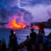 <学生探险:夏威夷火山大岛3日>【火山国家公园+黑沙滩+彩虹瀑布】亲临活火山,自然探险体验
