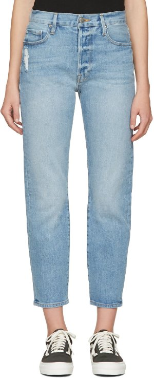 Frame Denim: Blue Le Original Jeans | SSENSE