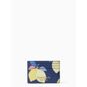 Kate Spade买包包$19换购卡包柠檬卡包
