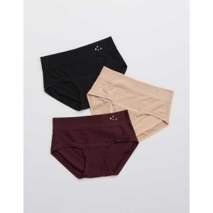 aerieReal Me Boybrief Underwear 3-PackReal Me Boybrief Underwear 3-Pack