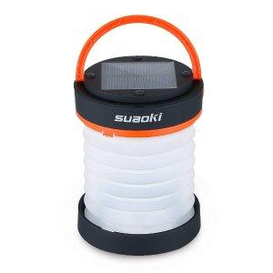 $4.99 (原价$16.63)SUAOKI LED便携户外野营灯 充电宝