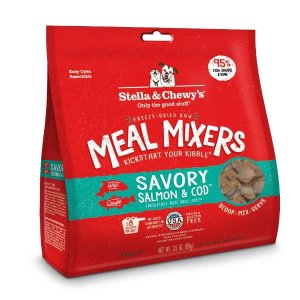 Stella & Chewy'sStella & Chewy's Freeze Dried Raw Savory Salmon & Cod Meal Mixers Grain Free Dog Food Topper | Petflow