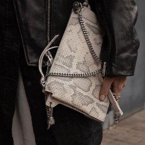 4折起!£68收封面链条包AllSaints 美包春季大促 通勤上学都实用的包包看这里