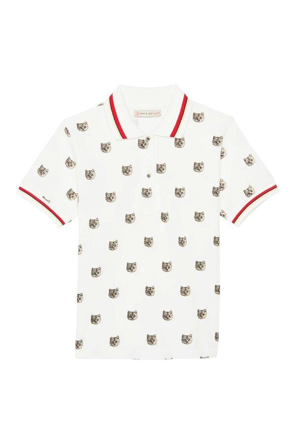 猫头polo衫