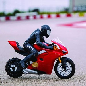 $99.99(Was $149.99)Upriser Ducati, Authentic Panigale V4 S Remote Control Motorcycle, 1:6 Scale