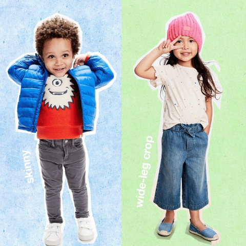Up to 50% Off + Extra 20% OffGAP Kids Sitewide Sale