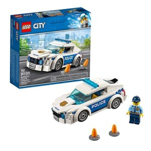 $6.99(原价$9.99)史低价:LEGO City 系列 警察巡逻车 60239,2019年款