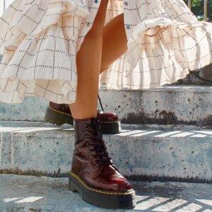 低至5折 £36收大童马丁靴Dr. Martens 精选帅气马丁靴超值大促