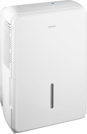 Insignia - 50-Pint Portable Dehumidifier