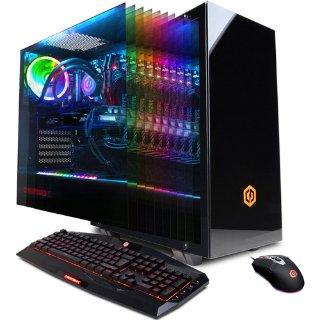 $1689.99  主流8核i9登场CyberPowerPC 台式机 (i9-9900K, RTX2070, 16GB, 1TB SSD)