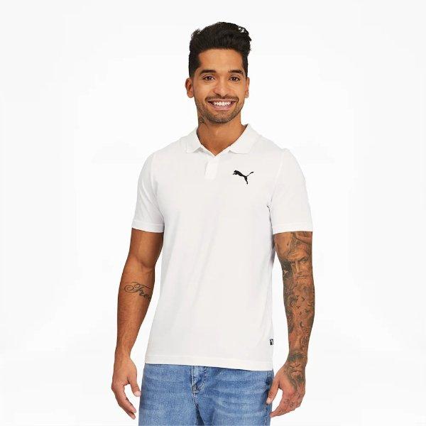 Essentials 男士 Jersey PoloT恤