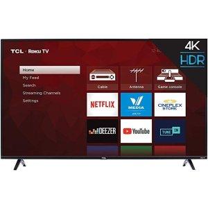TCL55'' 4K智能电视
