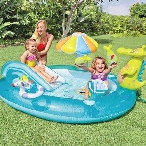 Intex Gator Inflatable Play Center, 80