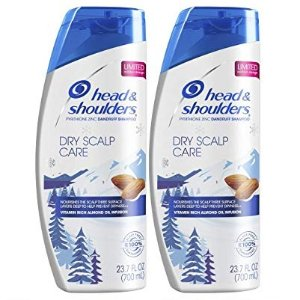 Head and Shoulders Anti Dandruff Shampoo, Dry Scalp Care with Almond Oil, 23.7 Fl Oz (Pack of 2) @ Amazon
