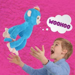 $20.91(原价$39.99)史低速抢!WowWee Fingerlings HUGS 高级互动毛绒猴子宠物
