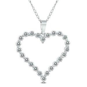 $348独家:Szul.com 精选超值14K金钻石项链特卖 免邮哟