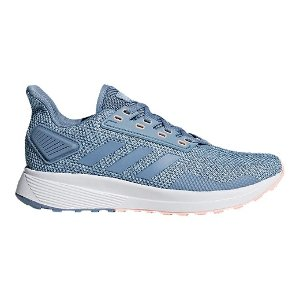adidas 蓝灰色女士运动鞋