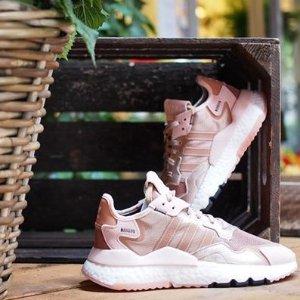 6折优惠+无门槛包邮adidas官网 NMD、Nite Jogger、POD等潮鞋特卖会