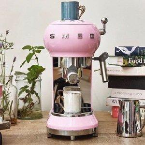 低至6折 收复古SMEGDavid Jones 高颜值胶囊、全自动等咖啡机专场