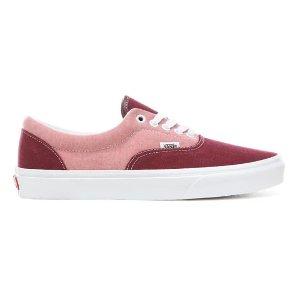 红粉拼色滑板鞋