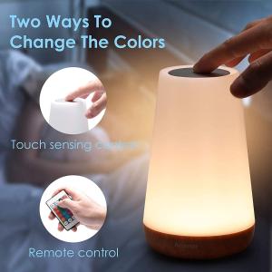 折后€11.49 原价€28.99Auxmir LED床头灯 亮度颜色可调节 USB充电 光鲜柔和护眼