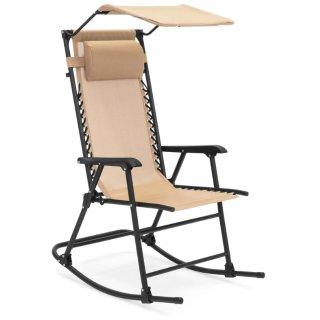 $42.99可折叠零重力豪华带遮阳摇椅