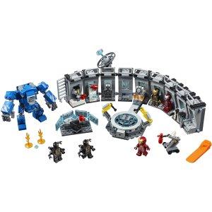 $96(原价$104.49)爱你三千遍LEGO 乐高新品 超级英雄系列 钢铁侠机甲陈列室 (76125)