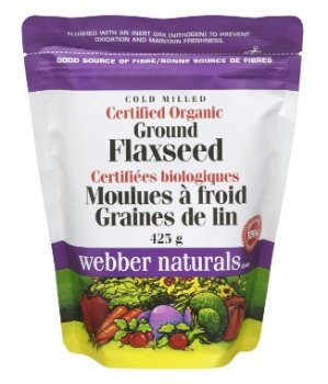 $5.98(原价$7.97)Webber Naturals 伟博天然冷榨有机亚麻籽粉 425克