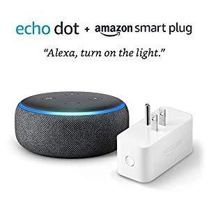 $39.98 (原价$74.98)Echo Dot 3代 + Amazon 智能插座套装