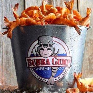 低至46折 还有超多种新鲜口味汉堡炸鸡Bubba Gump Shrimp 美式炸虾汉堡套餐