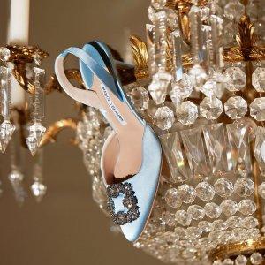 满额最高享7折Manolo Blahnik 美鞋热卖,收经典钻扣鞋,多色可选