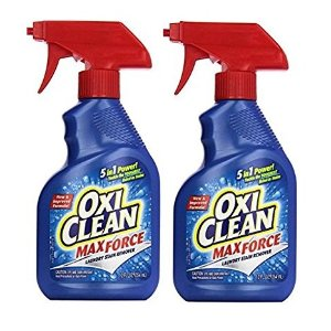 $5.68OxiClean Max Force Laundry Stain Remover Spray, 12 Ounce (Pack of 2)