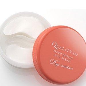 3盒直邮美国到手价$68.9粉丝推荐:quality first 高保湿 防皱纹 去黑眼圈 眼膜 60片 特价