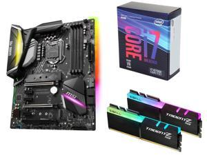 $649.99 (原价$776.97)Intel i7-8700K + MSI Z370 Gaming Pro 主板 + G.Skill RGB 16GB 内存