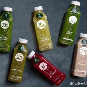 只要$65史低价:Jus by Julie 三日清肠18瓶健康果汁