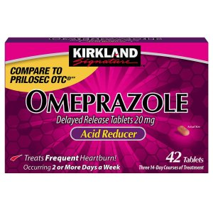 Kirkland Signature Omeprazole 20 mg., 42 Tablets
